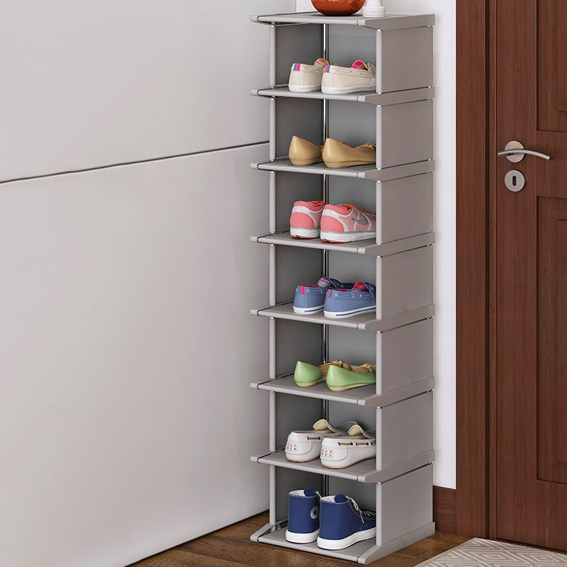 Vertical Shoe Rack Removable Shoe Organizer Shelf Living Room