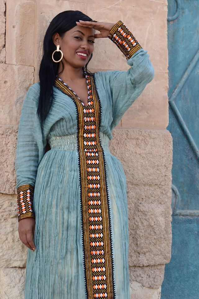 Buy Traditional Ethiopian Dresses in 2019 | Eritrean ...