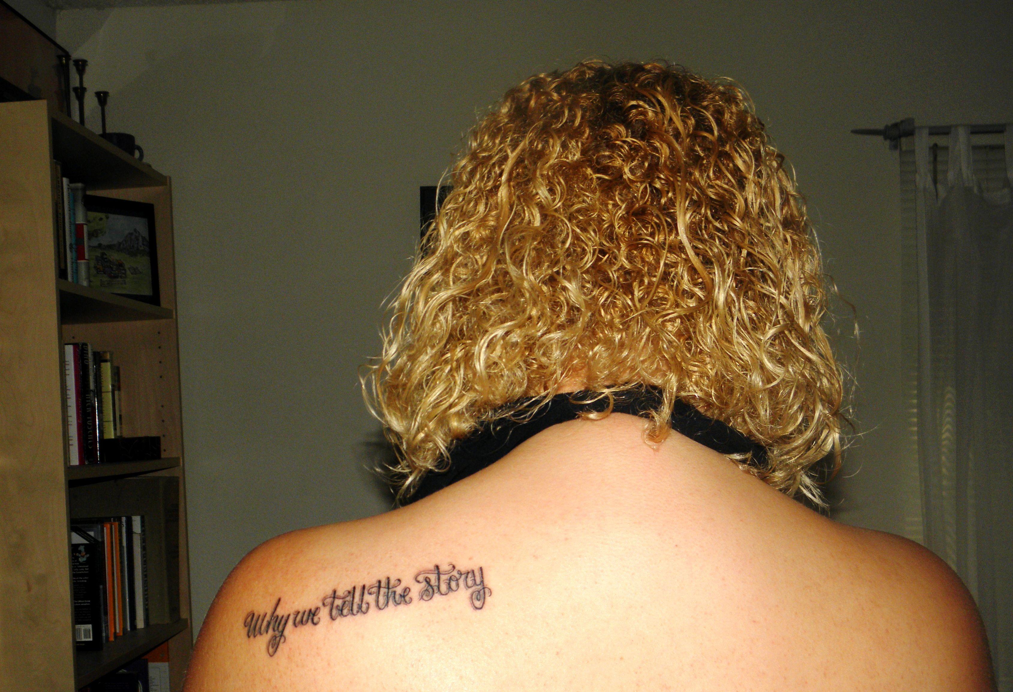 Once On This Island tattoo May 2012 musical lyrics