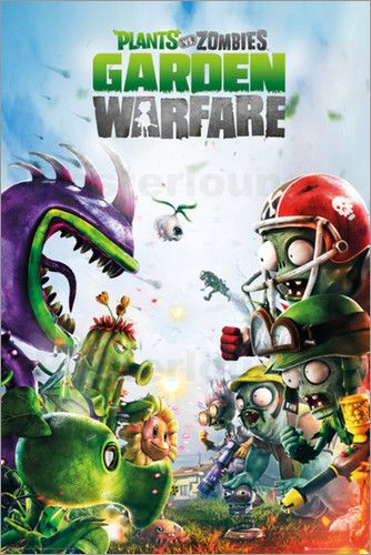 "Poster von ""Plants vs Zombies - Garden Warfare"""