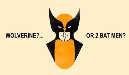Wolverine? ... Or 2 Bat Men