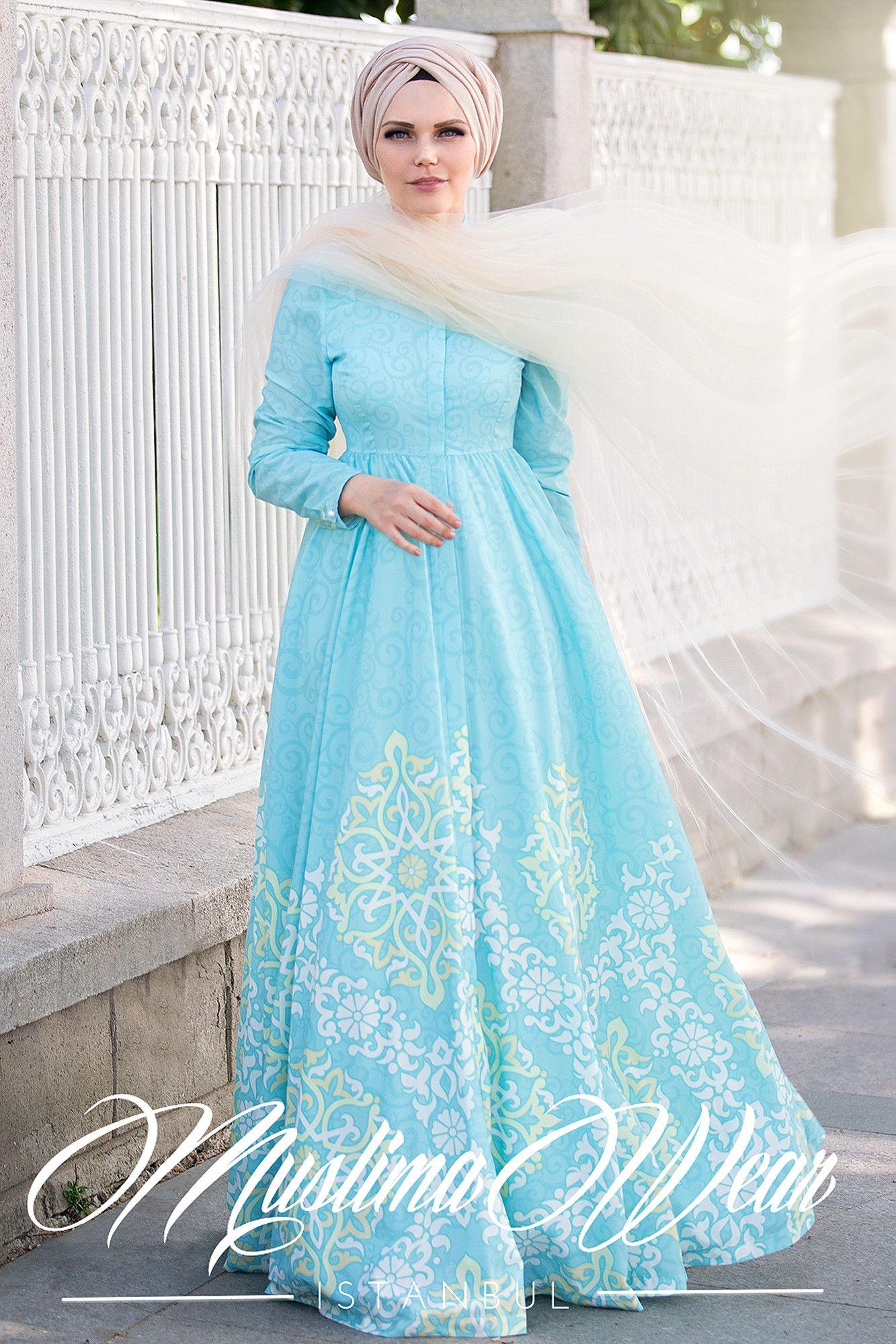 Mint breeze dress | Breeze, Modest fashion and Muslim dress