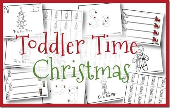 Number Names Worksheets : christmas printables for toddlers ~ Free ...