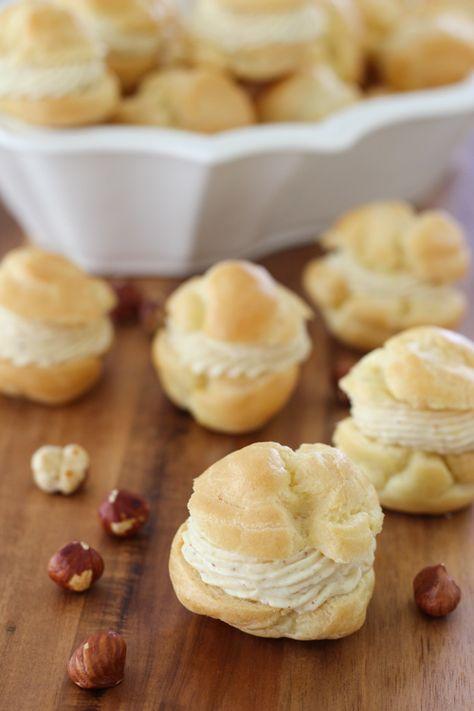 Hazelnut Cream Puffs