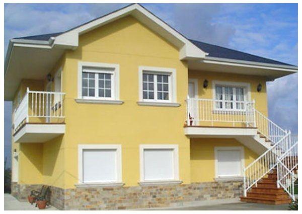 Colores de fachadas de casas modernas modelos de for Colores modernos para exteriores