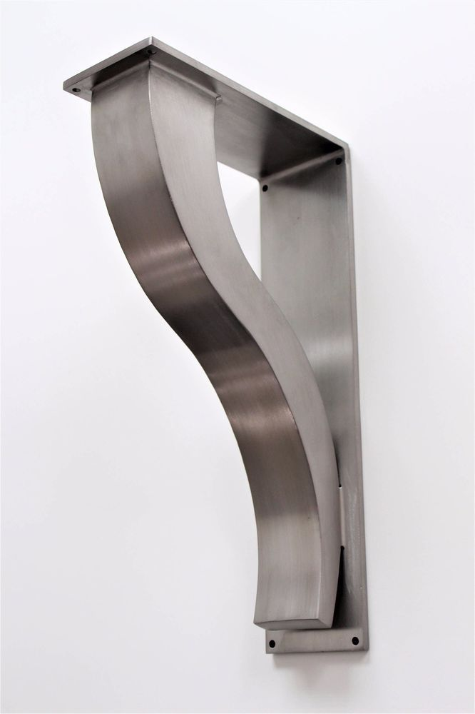 Details About Large Stainless Steel Countertop Support Brackets
