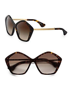 65ac63da4f1f Miu Miu Star Metal   Acetate Sunglasses