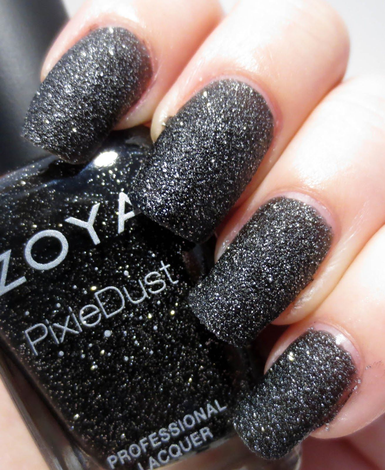 Zoya pixiedust in dahlia the ultimate textured sparkling matte nail polish it s like lava