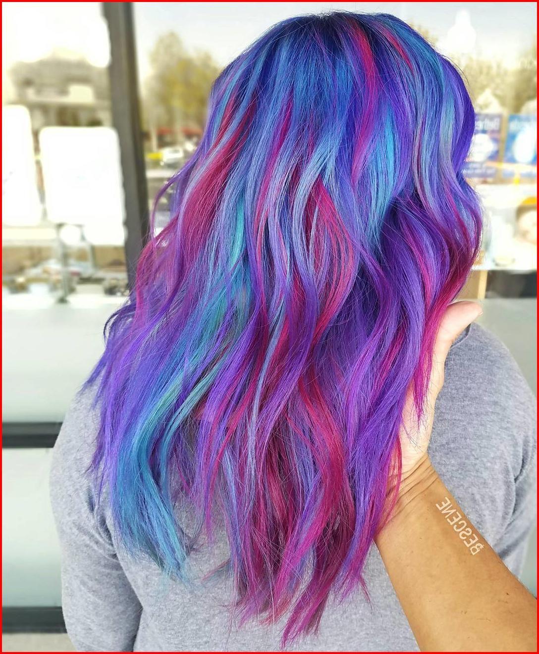 Blue Purple Hair Color Ideas Hair Color Purple Kids Hair Color