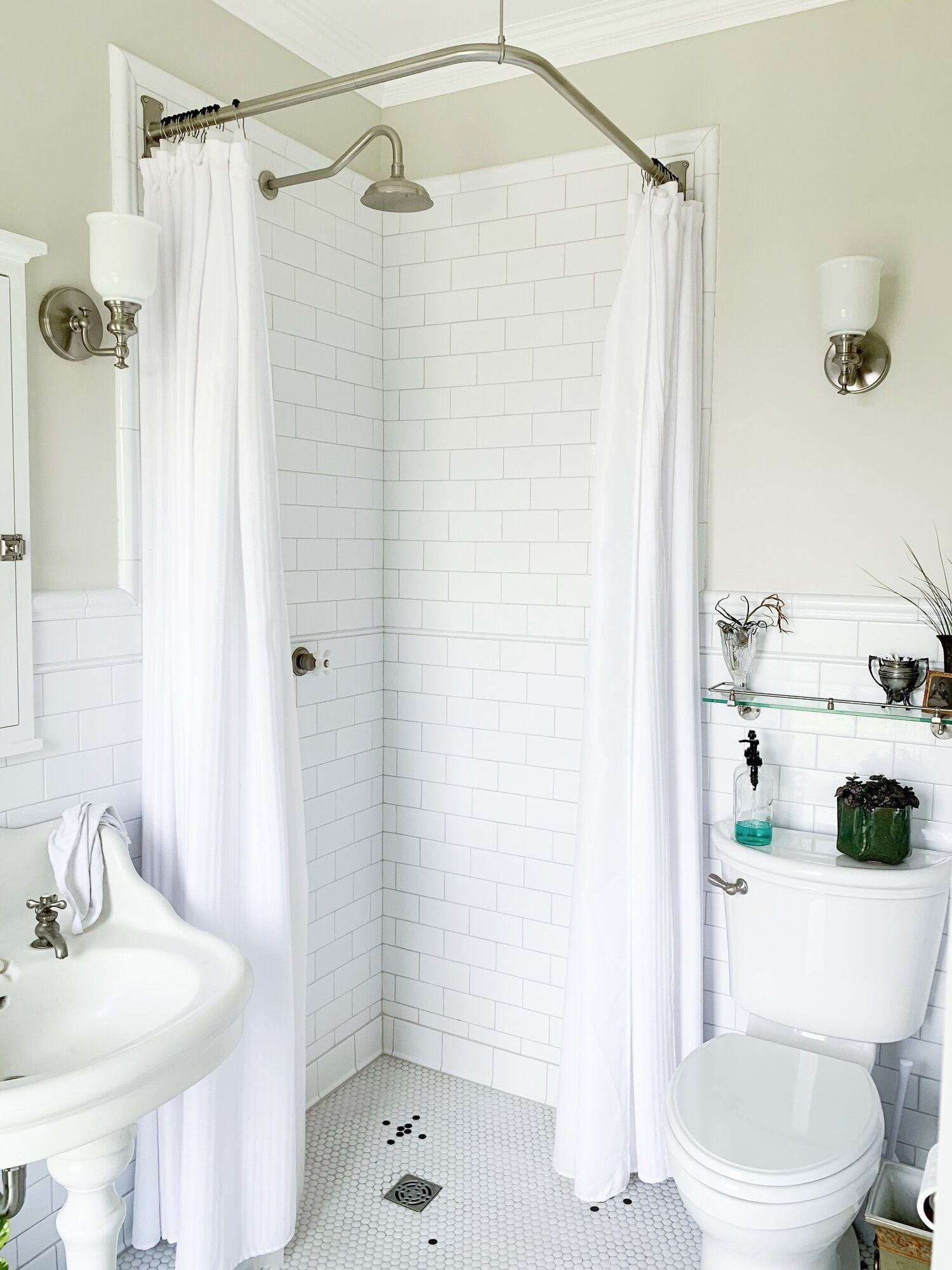 Shower Head Shower Handles Shower Curtain Rod Shower Curtain