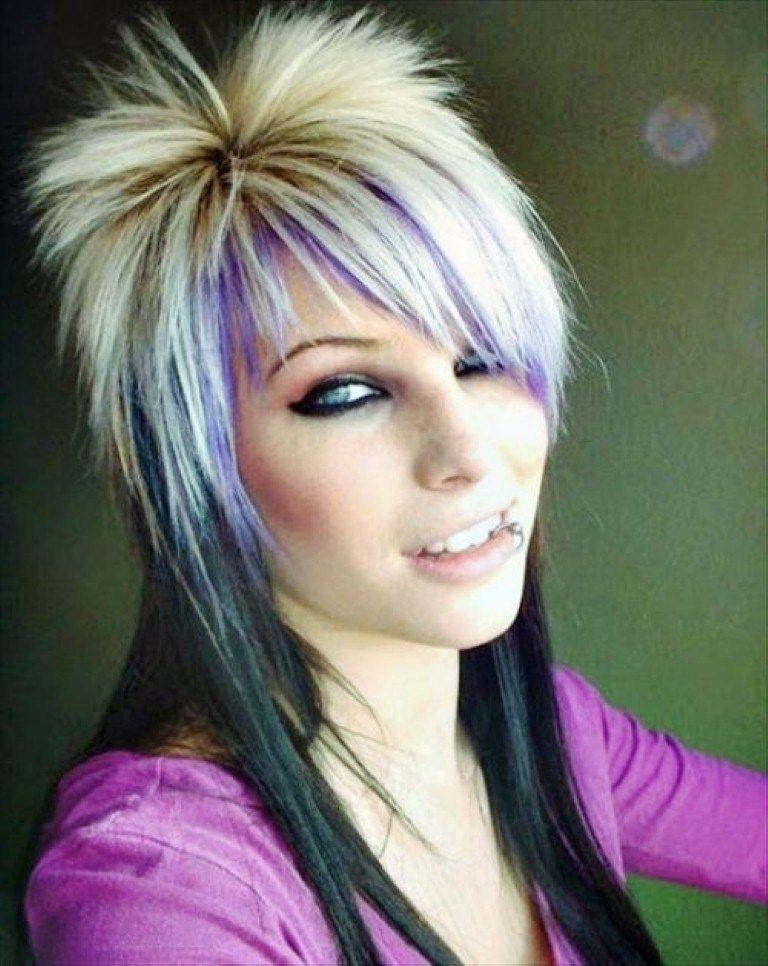Punk Frisuren Fur Frauen Hair Styles Rock Hairstyles Long Hair Styles