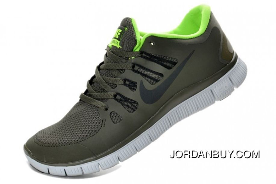 new styles 3fae4 64c6d Authentic Nike Shoes For Sale Nike Free Run 5 Army Green -