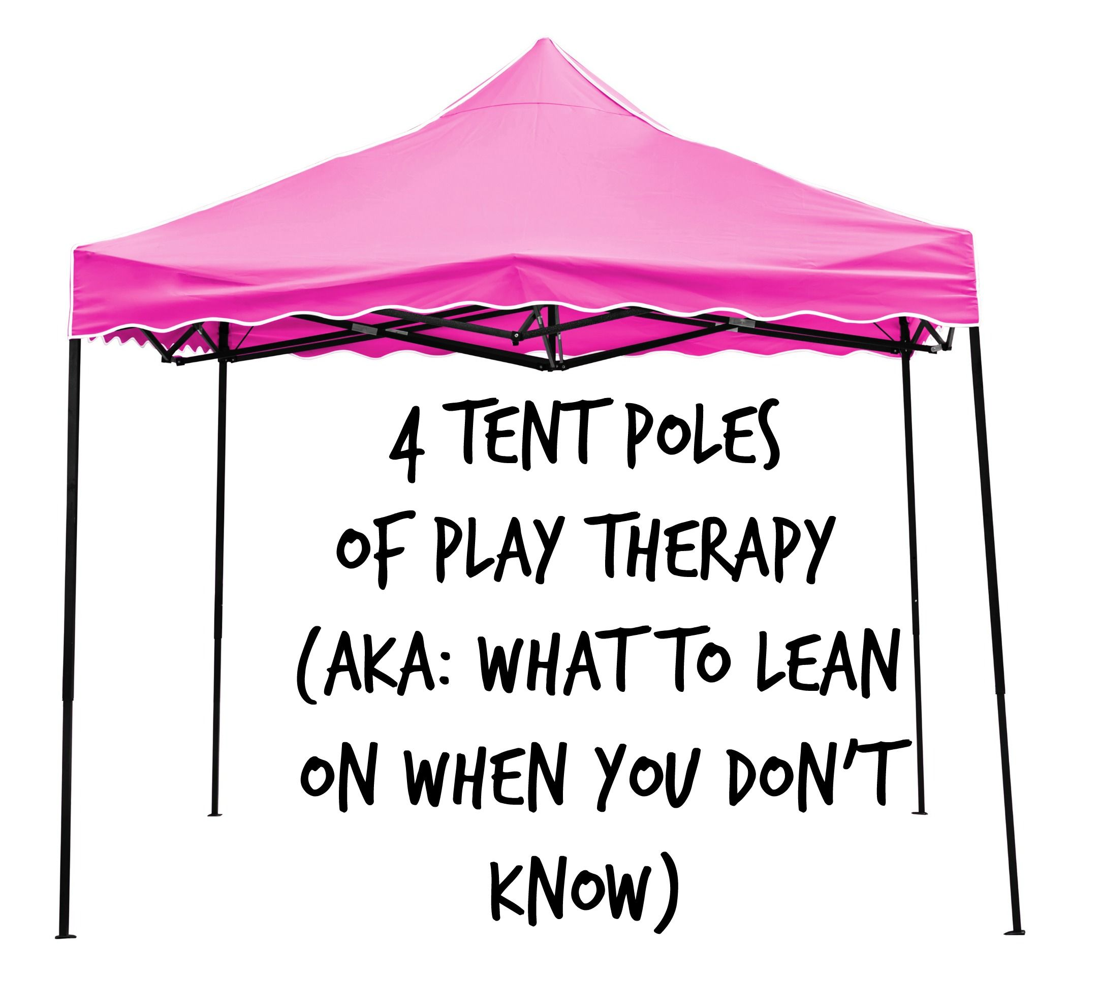 Remember And Lean On These Four Tent Poles Of Play Therapy