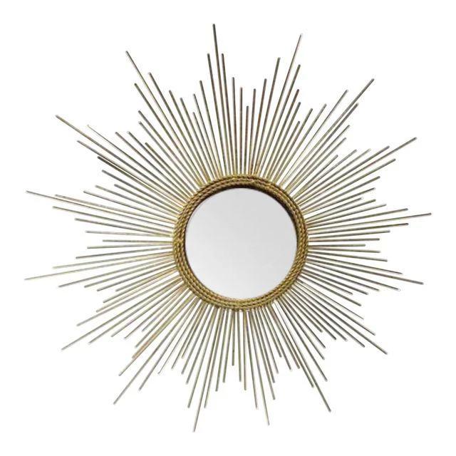 Art Deco Style Gold Starburst Mirror Gold Starburst Mirror Starburst Mirror Art Deco Fashion