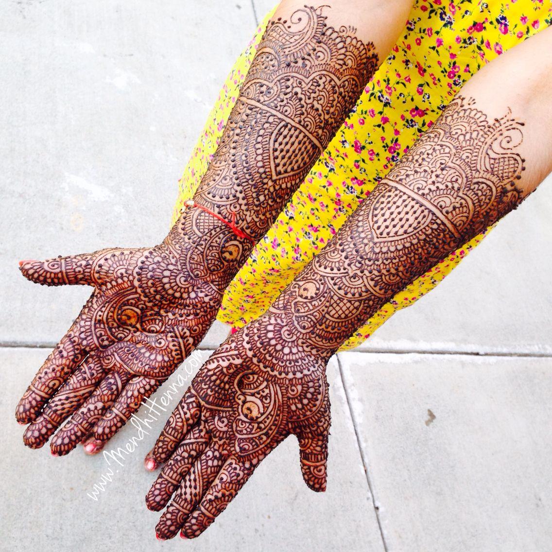 Attractive dulhan henna mehndi design for full hand - Indian Bridal Henna Or Mehndi Designs Hand Mehendi Bridal Fashion