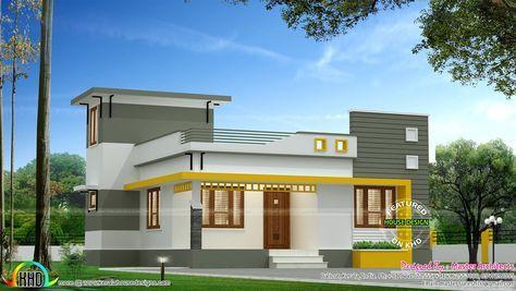 Single Floor Home Contemporary Jpg 1600 902 Contemporary House Design House Front Design One Floor House Plans