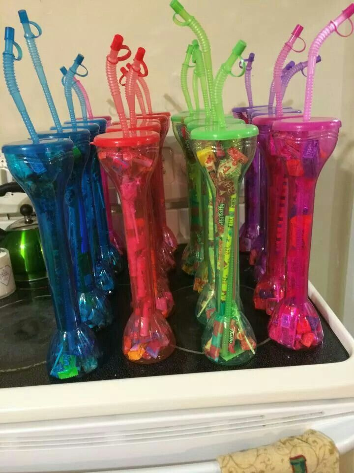 Neat idea for party favors Gift baskets ideas