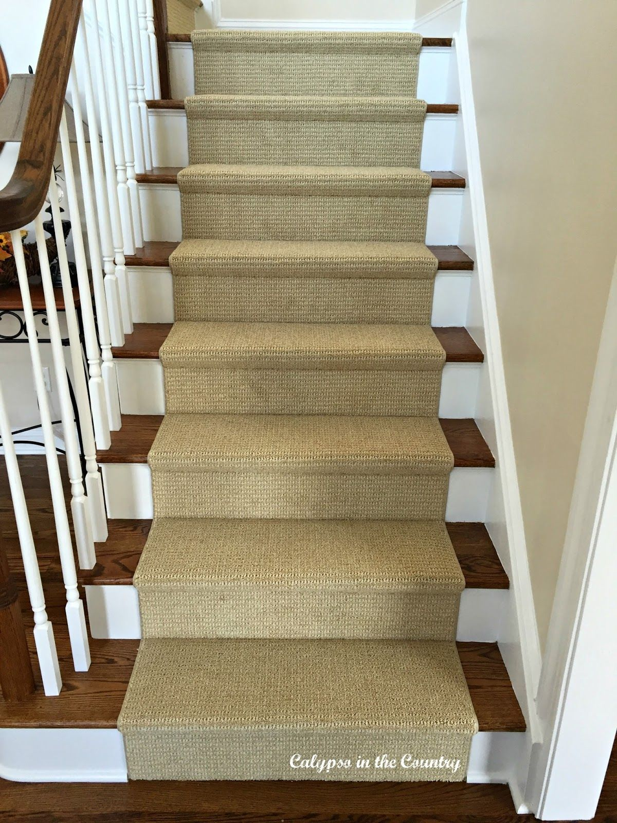 A Sisal Substitute For The Stairs. Sisal Stair RunnerStair RugsStair ...