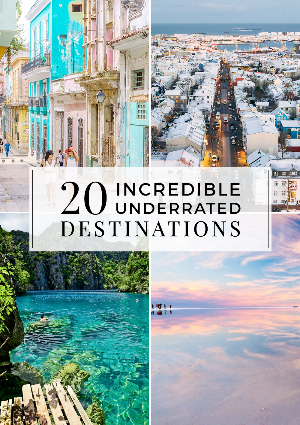 Step away from the overpopulated destinations and discover some of the most underrated places in the world.