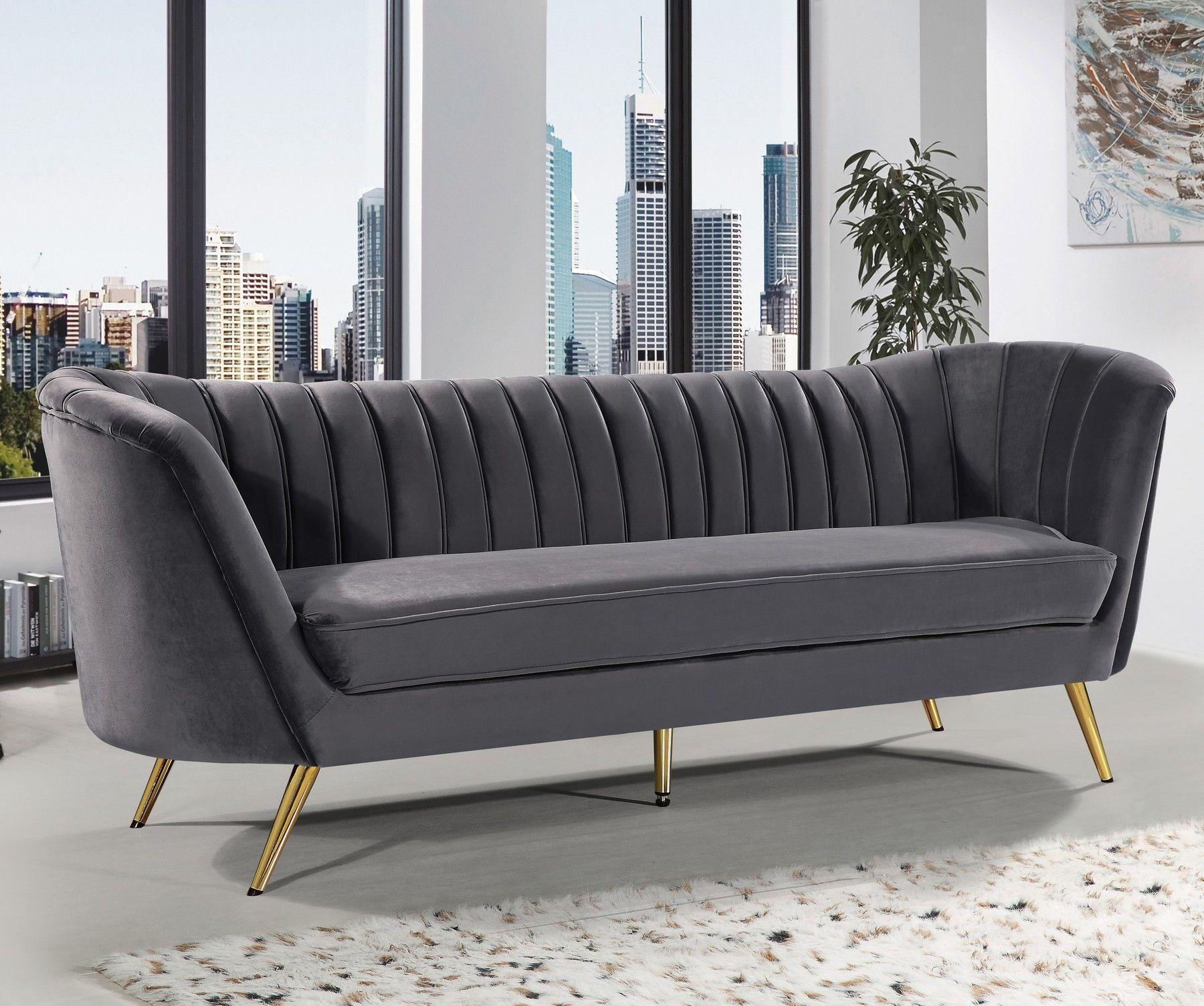 Margo Gray Sofa In 2020 Sofa Fabric Sofa Sofa Upholstery