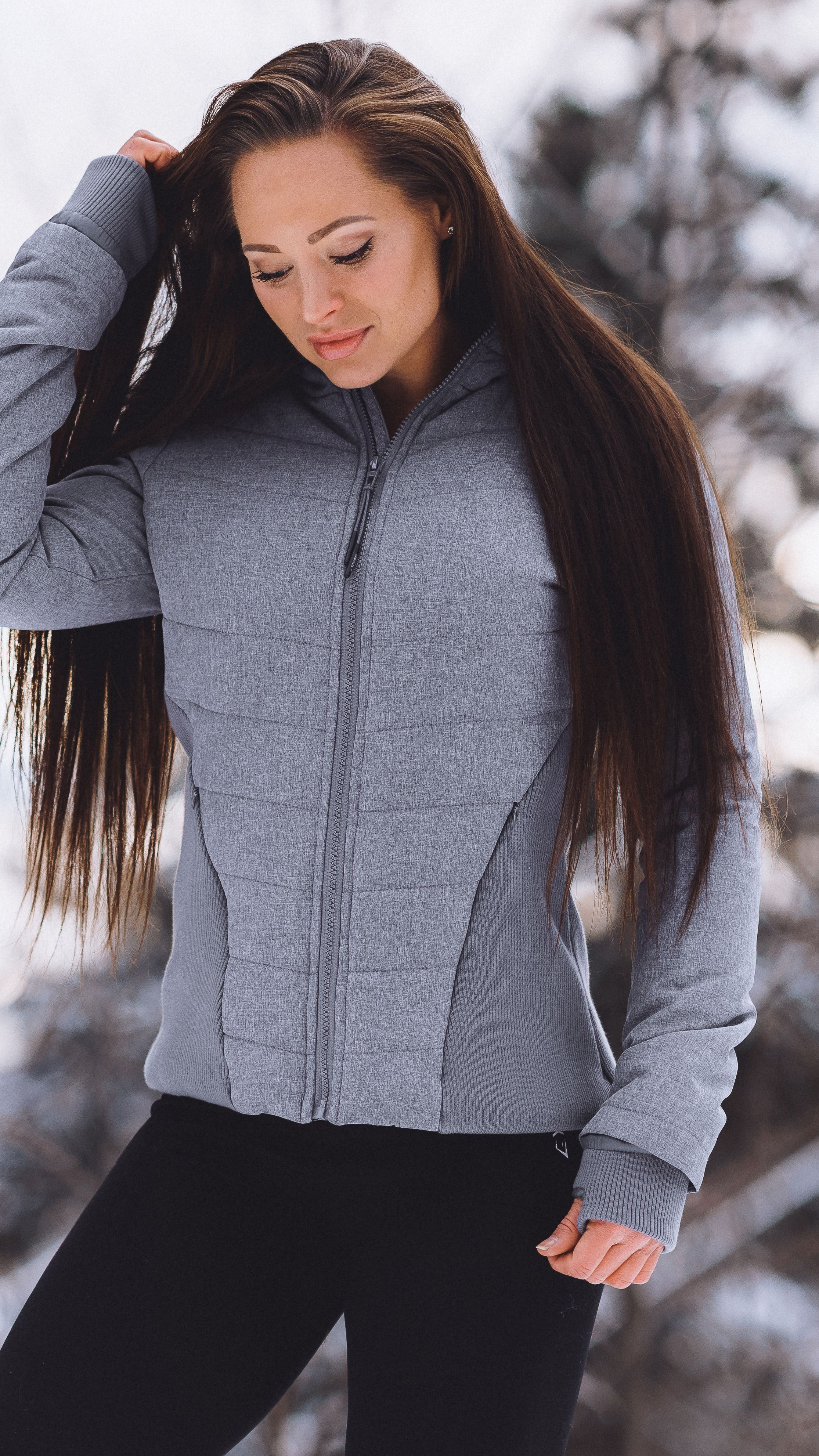 Keep Warm Against The Elements In The Gymshark Women S Mellow Puffer Jacket Fully Lined For Your Comfort Warm Jackets For Women Gymshark Women Puffer Jackets [ 3965 x 2230 Pixel ]