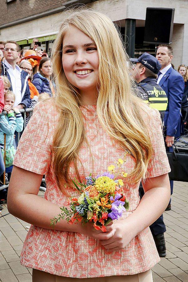 27 4 2018 Prinses Amalia Koningsdag Groningen Prinses Amalia 2