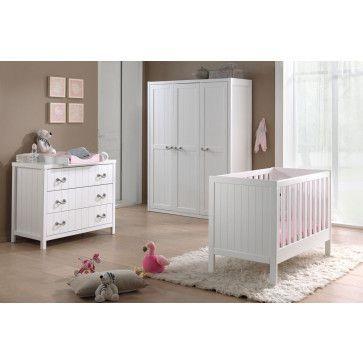 complet 5 pièces pour chambre bébé avec lit à barreaux 60x120 cm ...