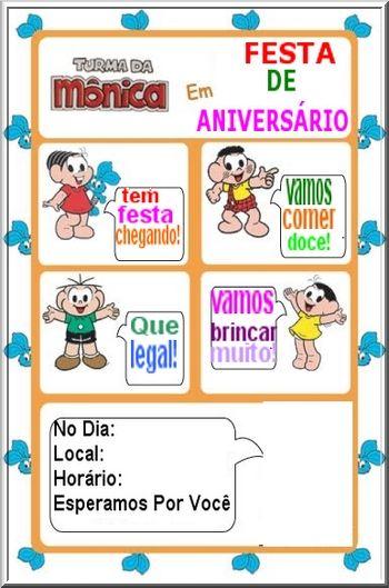 Festa Turma Da Monica Decoracao Infantil Da Monica Com Imagens