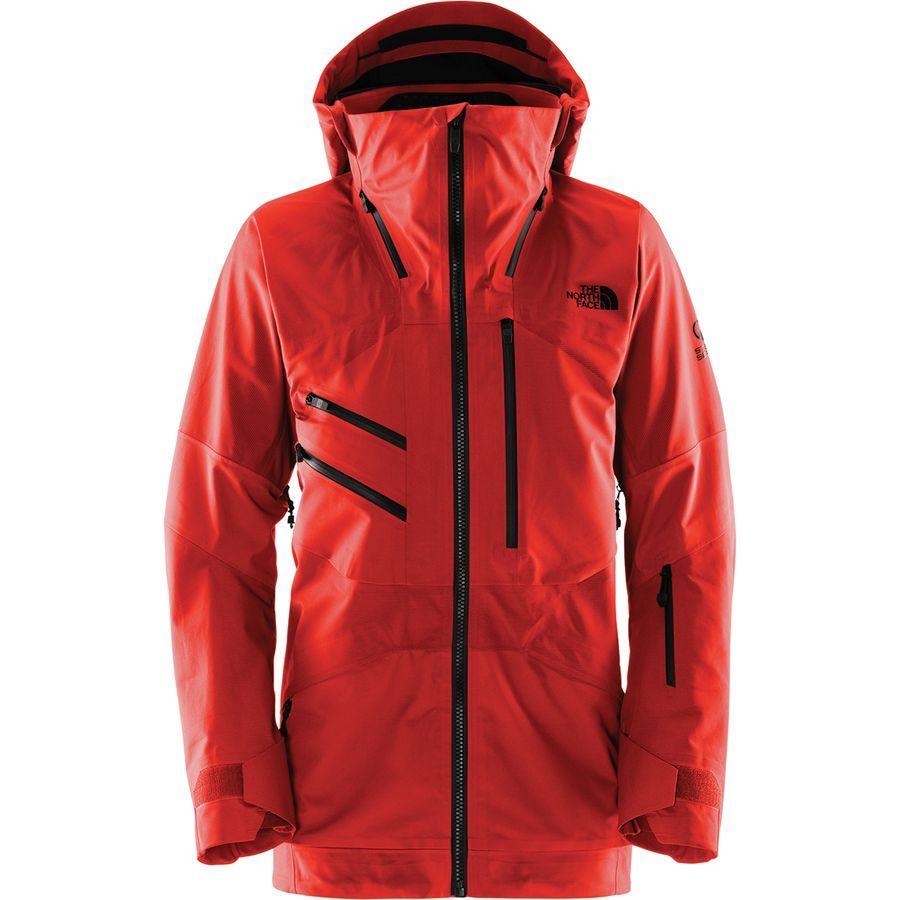 The North Face Fuse Brigandine Hooded Jacket Men S Fiery Red Fuse Ski Jacket Mens Jackets Hooded Jacket Men [ 900 x 900 Pixel ]