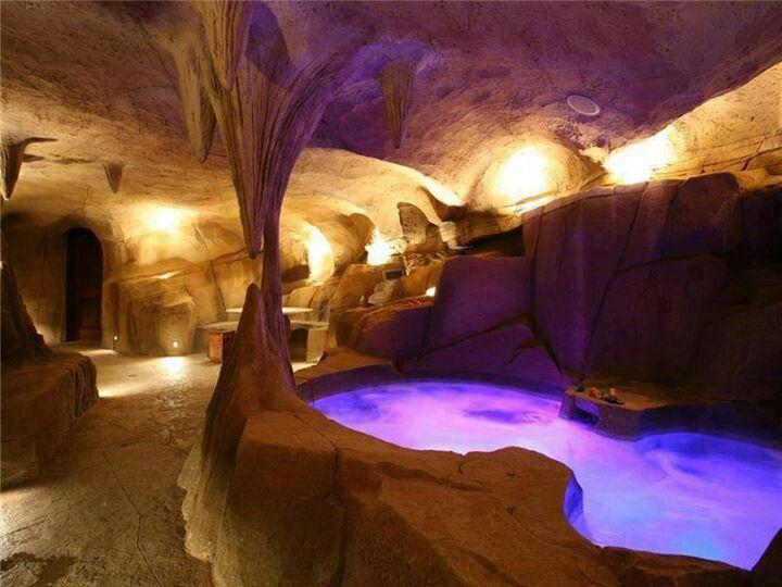 Underground Cave Cavern Pool Hot Tub