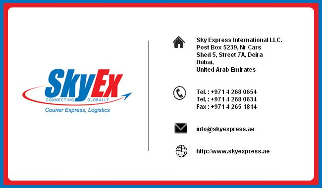 Dubai Courier Services Contact Sky Express International