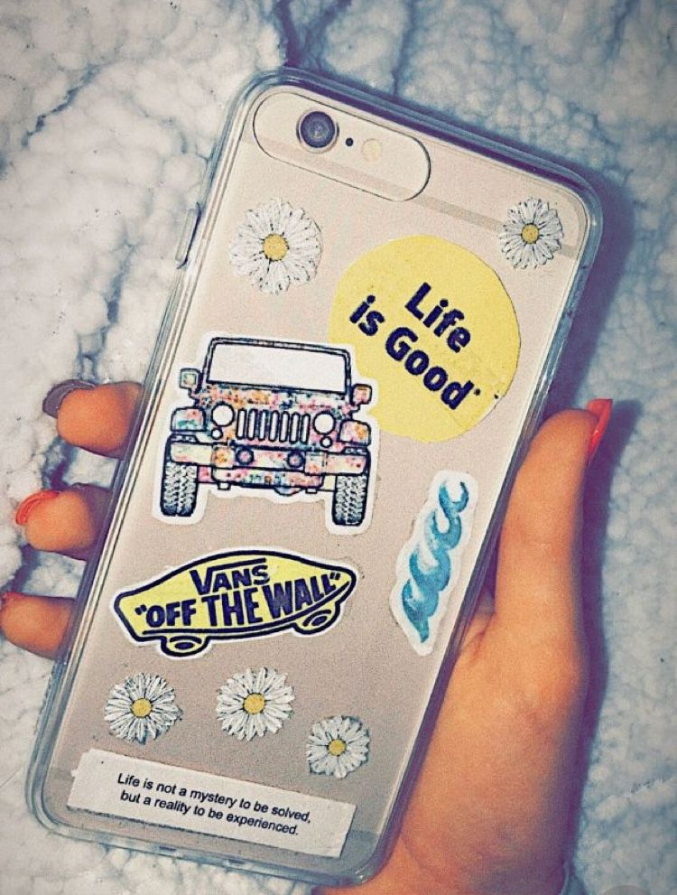 Phone Case Stickers Diy In 2019 Phone Cases Tumblr Phone Case