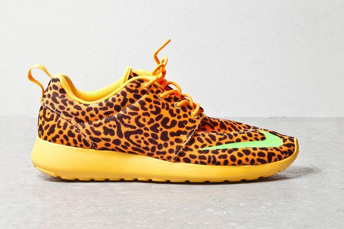 """86d5075fa6a9 Image of Nike Roshe Run FB """"Orange Leopard"""""""