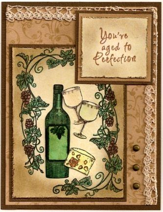 Crafty Secrets SL09 Wine Lovers Sample Aged To Perfection
