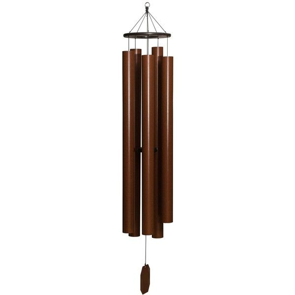 Amish Spirit of Maroon Bells Wind Chime (2,075 GTQ) ❤ liked on Polyvore featuring home, outdoors, outdoor decor, garden decor, outdoor garden wind chimes, bell wind chimes, wind chimes and personalized wind chimes