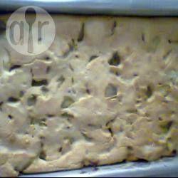 Torta de liquidificador de cebola