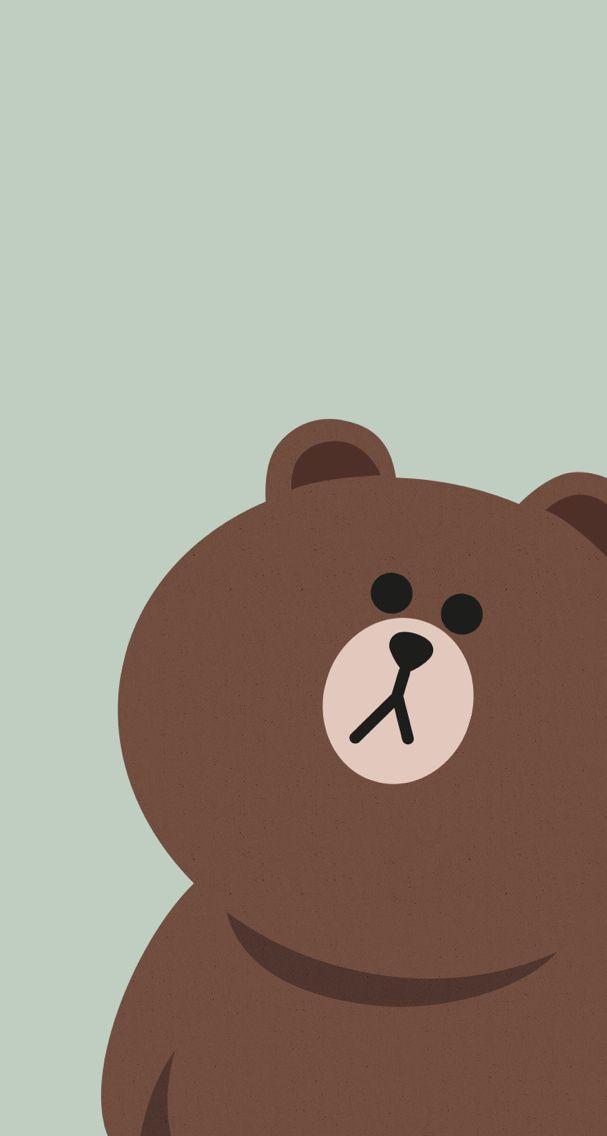 Cellphone Wallpaper Kertas dinding, Seni, Beruang coklat