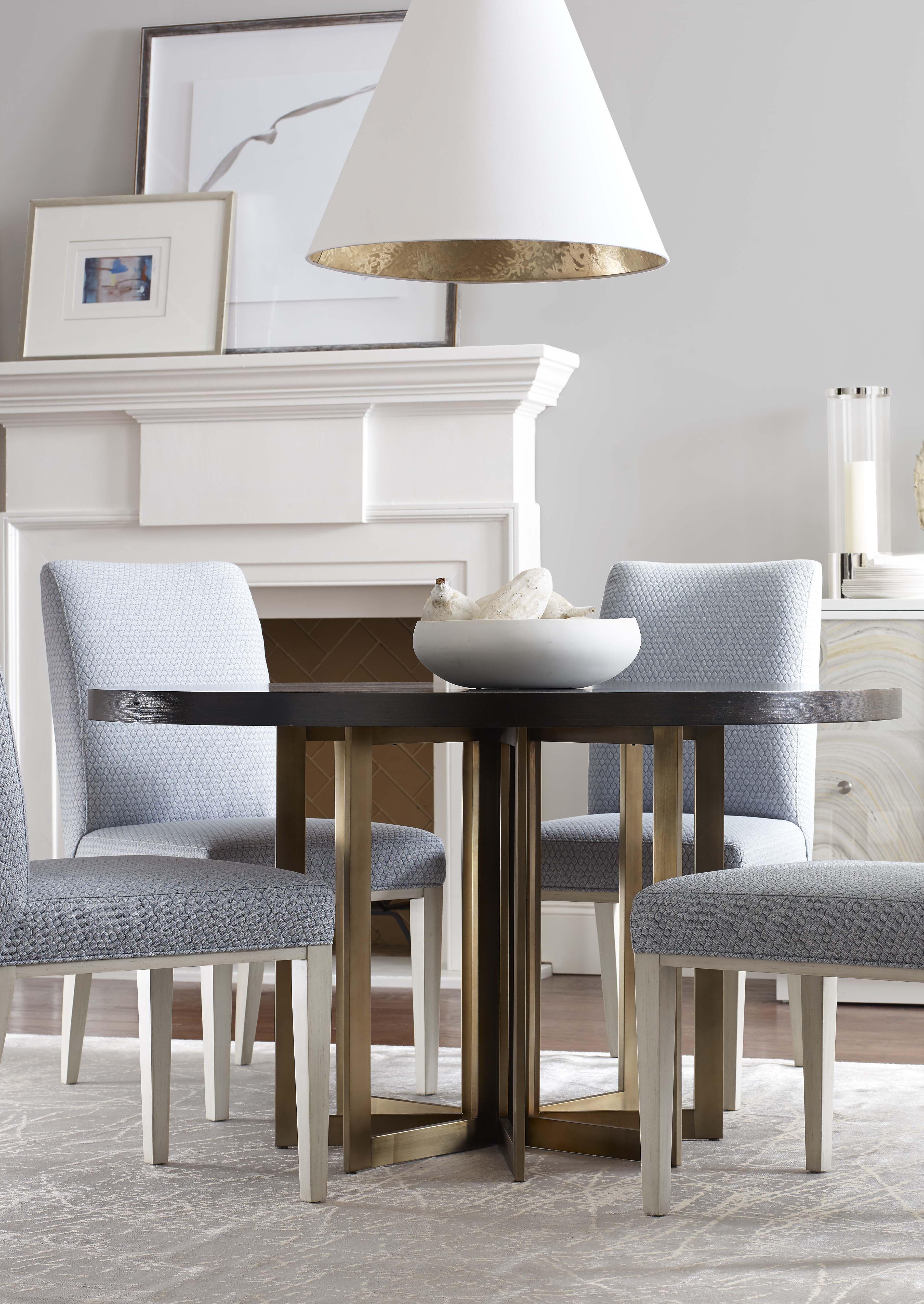 Transitional Dining Room, Bed Down Furniture/Interior Design Atlanta