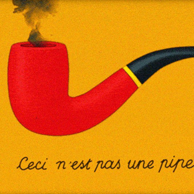 O ilustrador Raphaëlle Martin criou uma homenagem ao pintor René Magritte…
