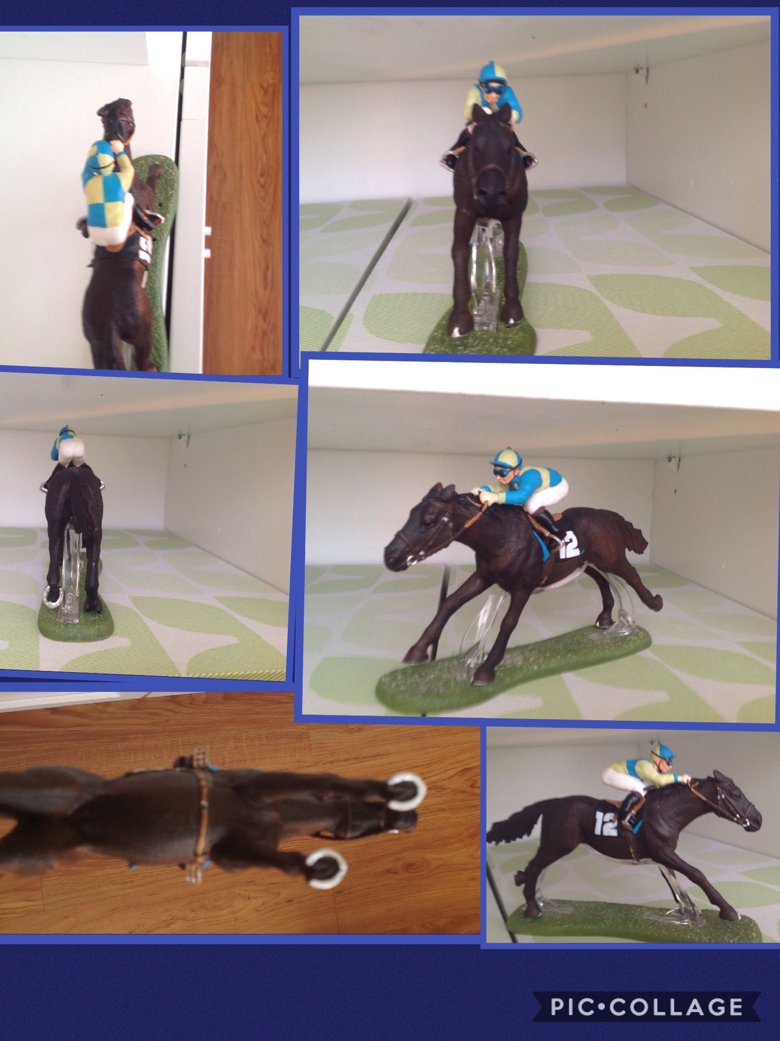My new horse of Schleich! He's very old and difficult to find. I love him! He looks like the father of Pharoah Pioneer of the Nile XD
