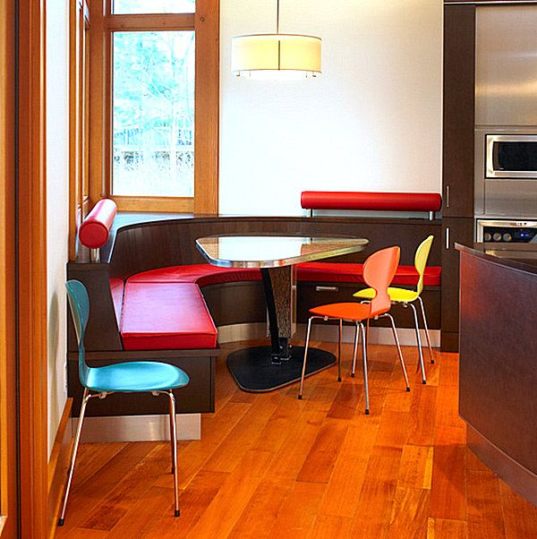 Corner Dining Table Chic Restaurant Tables And Chairs For The Modern Home