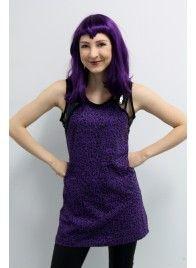 Purple Leopard Top