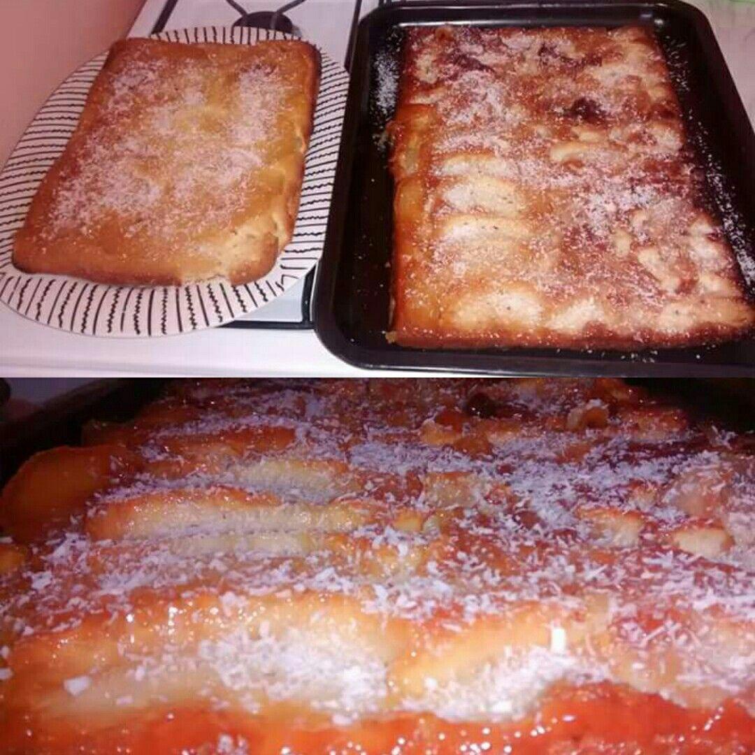 Torta invertida de Manzana!🍎🍎🍎🍎