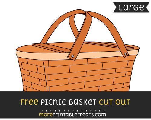 free printable picnic basket