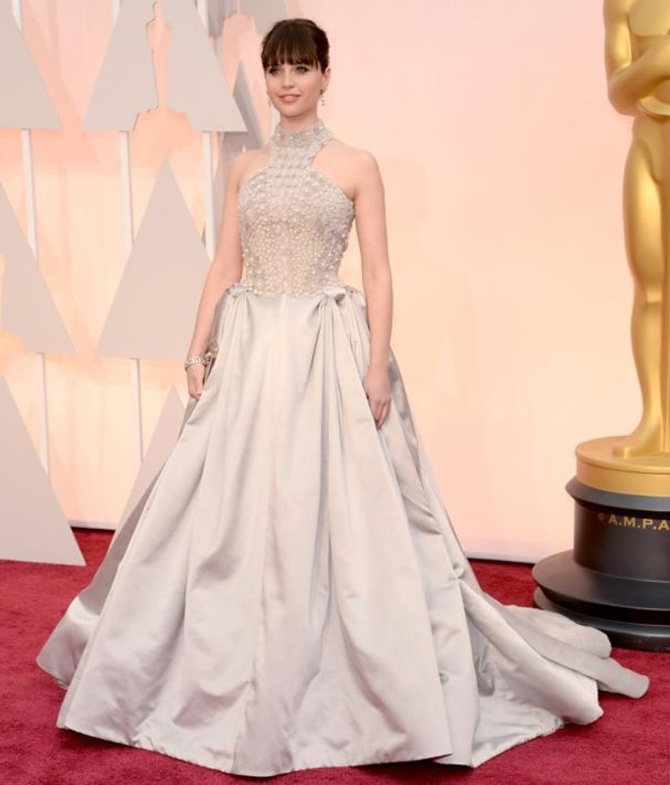 Academy Awards 2015 Felicity Jones