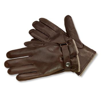 Mens Leather and Cashmere Gloves - Bentley Cashmere-Lined Glove -- Orvis on Orvis.com!