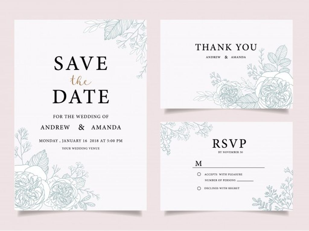 Wedding Invitation Cards Thank You Card Wedding Stationery Paid Ad Ad In 2020 Wedding Invitation Card Template Wedding Invitation Cards Wedding Invitations Diy