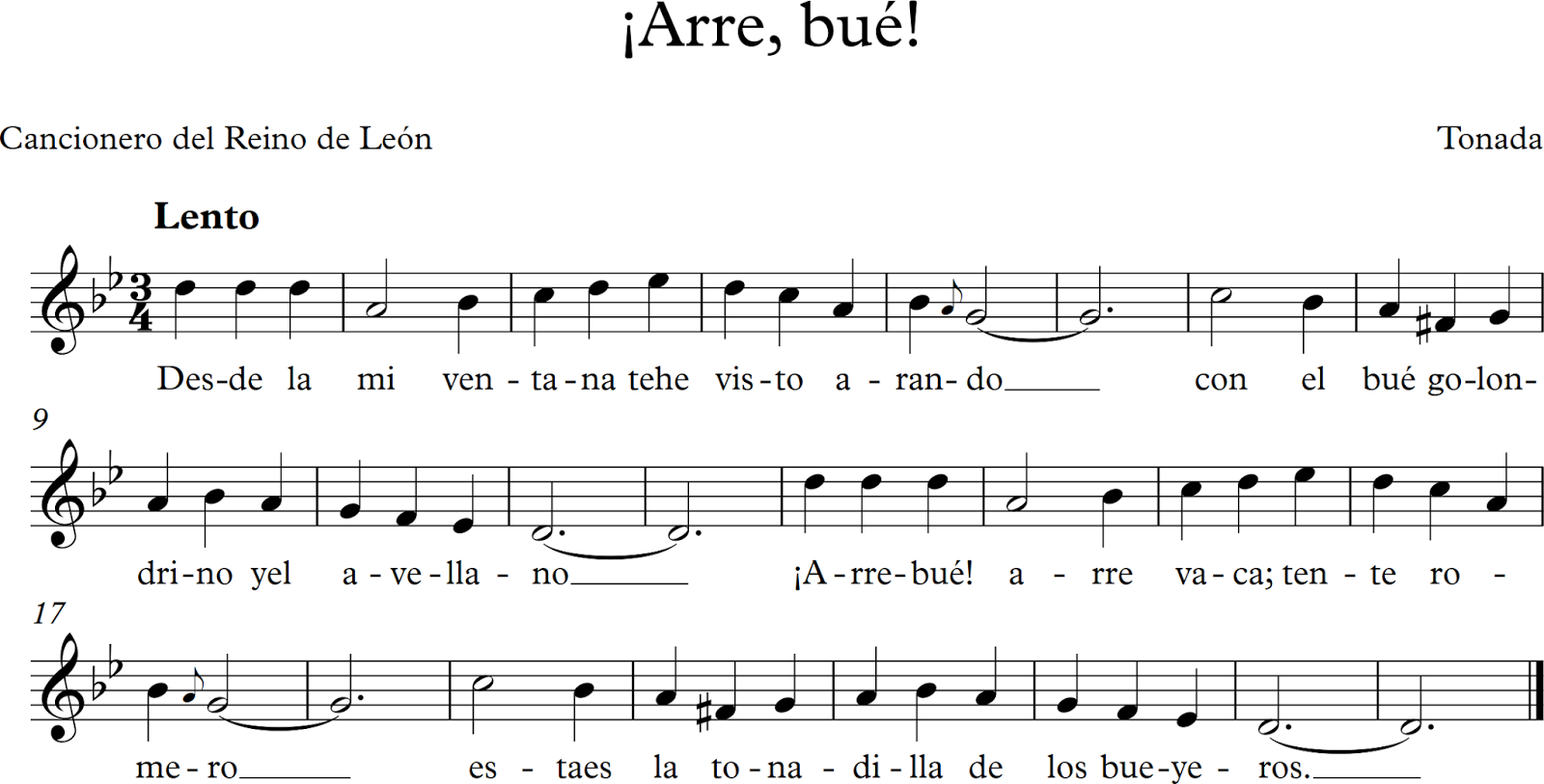 Descubriendo La Música Arre Bué Musica Partituras Partituras Musica