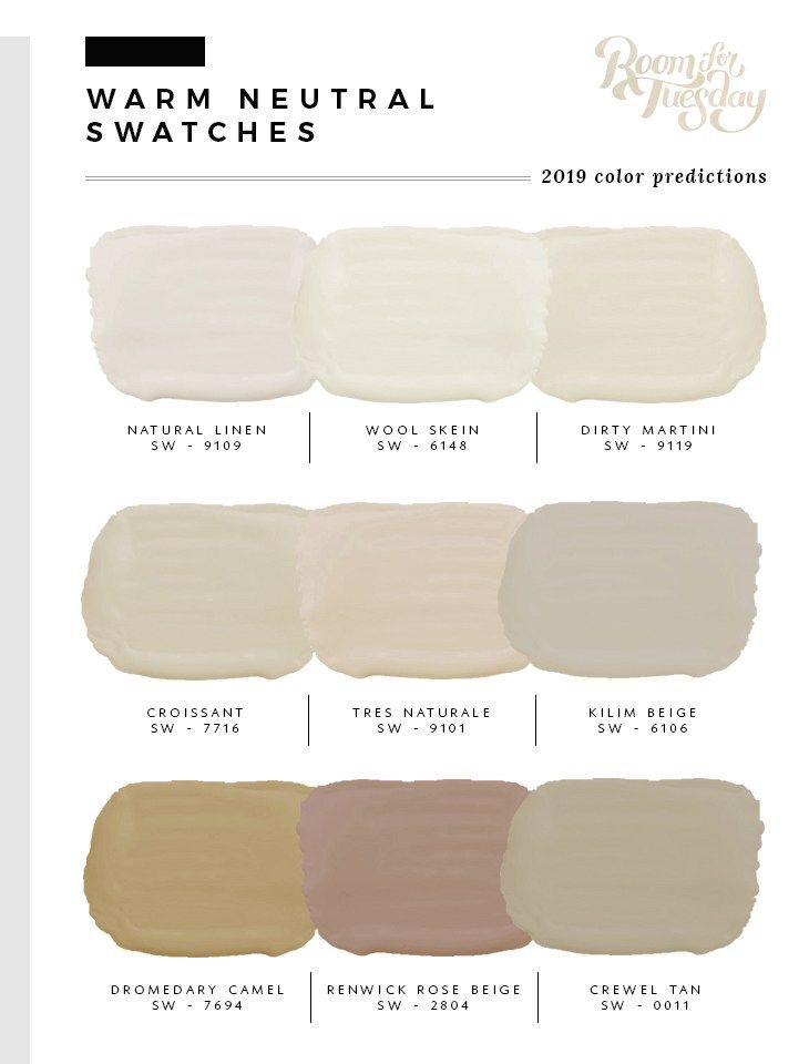 Predicted Paint Colors for 2019 images