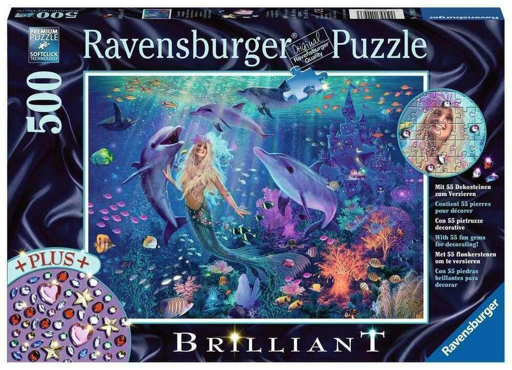 Ravensburger Puzzle Bezaubernde Meerjungfrau 500 Teile 2020